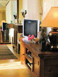 Luxury cottage including TV, DVD player and stereo